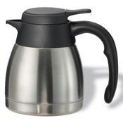 Service Ideas 0.6L Steelvac Stainless Steel Carafe - Coffee Carafes and Servers