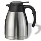 Service Ideas 1.2L Steelvac Stainless Steel Carafe - Coffee Carafes and Servers