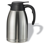 Service Ideas 1.6L Steelvac Stainless Steel Carafe - Coffee Carafes and Servers