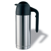 Service Ideas 1L SteelVac Stainless Carafe without Base - Coffee Carafes and Servers