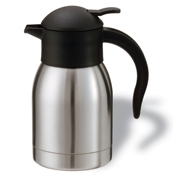 Service Ideas 0.6L SJ Steelvac Carafe - Coffee Carafes and Servers
