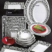 """G.E.T. Soho Servingware 12"""" Square Plate - Dinner Plates"""