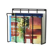 Spectrum 37710CAT Wall Mount Wire Magazine/Newspaper Caddy - Literature Displays