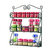 Spectrum 43710CAT Scroll Wall Mount Spice Rack - Wall Racks