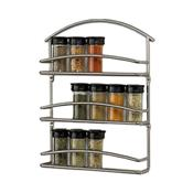 Spectrum 45410CAT Euro Wall Mount Spice Rack - Wall Racks