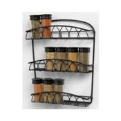 Spectrum 92310CAT Twist Wall Mounted Spice Rack - Wall Racks
