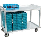 Cook's Aluminum 60-Tray Delivery Cart - Cook's Brand