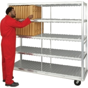 New Age Industrial Extra Heavy Duty 168 Insulated Tray Drying Rack
