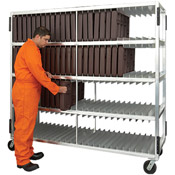 "New Age Industrial 3-Shelf 82-5/8""L Universal Tray Drying Rack"