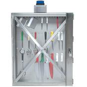 "Cook's 36"" x 50"" Tool Locker with Warning Light"
