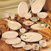 """G.E.T. Tahoe Sandstone Dinnerware 9"""" Plates - Dinner Plates"""