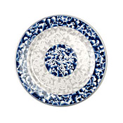 "Thunder Group 1016Dl Blue Dragon Melamine 15-1/2"" Round Plates - Dinner Plates"