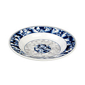 "Thunder Group 1110Dl Blue Dragon Melamine 10-3/8"" Soup Plates 12 Oz. - Dinner Plates"