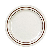 "Thunder Group Ad106Aa Arcadia Melamine 6-1/4"" Round Bread Plates - Dinner Plates"