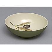 "Thunder Group LC5608GR Laurel Melamine 6-3/8"" Rice Bowl - Servingware"