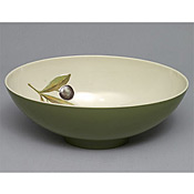 "Thunder Group LC5612GR Laurel Melamine 12"" Large Bowl - Servingware"