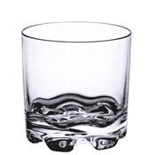Thunder Group Plthrg012C 12 Oz Stackable Rock Glass - Plastic Tumblers