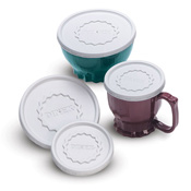 Dinex Tropez Disposable Lid for 9oz Bowls - Disposable Serving Bowls & Lids