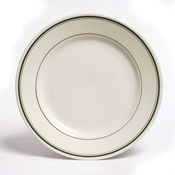"Tuxton China 10-1/2"" Dinner Plates - Dinner Plates"