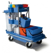 Floor Cleaning Supplies - Mop Buckets and Carts