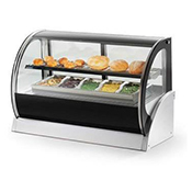 Vollrath 40857 Curved Glass Heated Display Cabinet - Vollrath