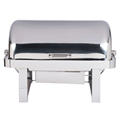 Vollrath 46350 9 Qt. Avenger Roll Top Chafer Full Size - Vollrath