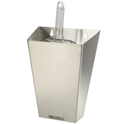 Infra Corporation 64oz (hinged lid) Stainless Steel Ice Scoop Holder