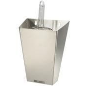 Infra Corporation 64oz (open lid) Stainless Steel Ice Scoop Holder