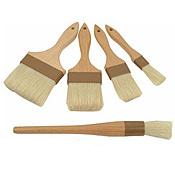"Economy Flat 2"" Boar Bristle Pastry Brush"