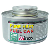 Winco C-F2 Chafing Fuel Canned Heat 2 Hour Twist Cap - Winco