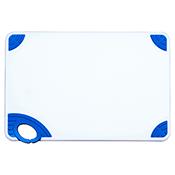 "Winco CBN-1218BU 12""x18""x0.5"" Cutting Board with Blue Hook - Winco"