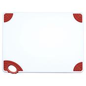 "Winco CBN-1520BN 15""x20""x0.5"" Cutting Board with Brown Hook - Winco"