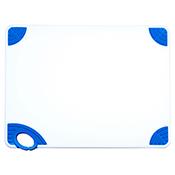 "Winco CBN-1520BU 15""x20""x0.5"" Cutting Board with Blue Hook - Winco"