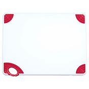 """Winco CBN-1520RD 15""""x20""""x0.5"""" Cutting Board with Red Hook - Winco"""