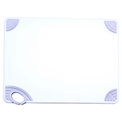 """Winco CBN-1520WT 15""""x20""""x0.5"""" Cutting Board with White Hook - Winco"""