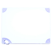 """Winco CBN-1824WT 18""""x24""""x0.5"""" Cutting Board with White Hook - Winco"""