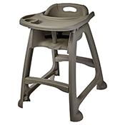 Winco CHH-18 Plastic High Chair - Winco