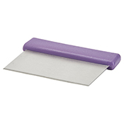 Winco DSC-2P Allergen Free Dough Scraper with Stainless Steel Blade - Winco