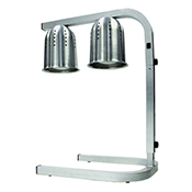 Winco EHL-2 Professional Free Standing Heat Lamp - Winco