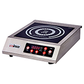 """Winco EIC-400 11"""" x 11"""" Commercial Electric Induction Cooker - Winco"""