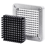 """Winco HCD-250BK 1/4"""" Replacement Blade and Block - Winco"""