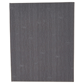 """Winco LMD-811GY Grey Double Views Menu Cover For 8.5x11"""" Inserts - Winco"""