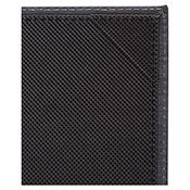 "Winco LMS-811BK Black Single View Menu Cover For 8.5x11"" Inserts - Winco"