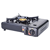 Winco PGS-1K Portable Gas Cooker, 9500 BTUs, Brass Burner with Carrying Case - Winco
