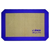 "Winco SBS-11PP 8-1/4"" X 11-3/4"" Purple Silicone Baking Mat - Winco"