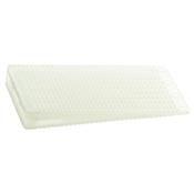 Winco TW-75W Translucent Hard Polypropylene Table Wedge - Winco