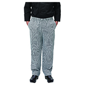 Winco UNF-4KL Houndstooth Chef Pants Size L - Winco