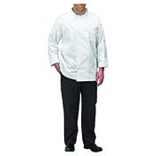 Winco UNF-5WL White Chef Jacket Size L - Winco