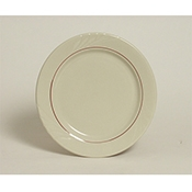 Tuxton YBA-062 Monterey Berry Band Plates - Dinner Plates