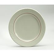 Tuxton YBA-090 Monterey Berry Band Plates - Dinner Plates